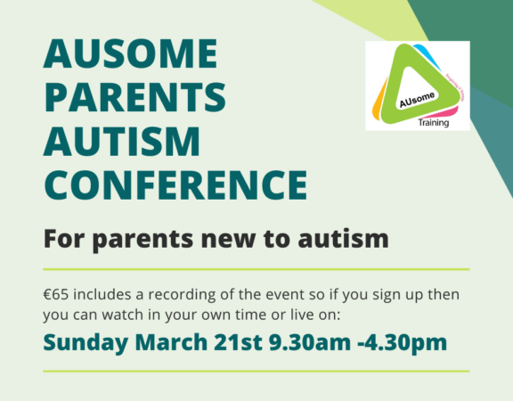ausome parents autism conference online march 21st