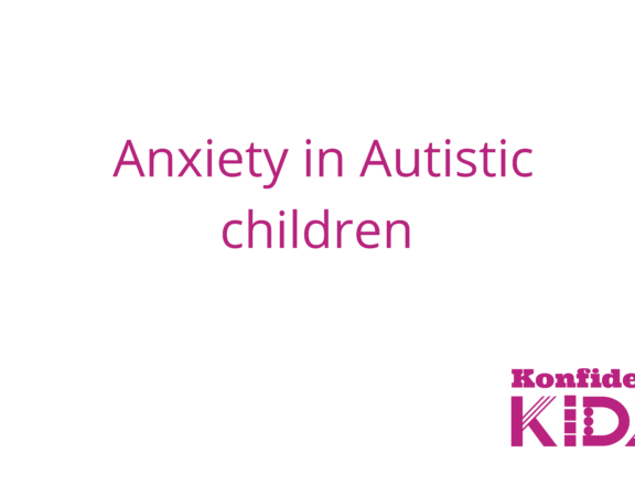 anxiety in Autistic children